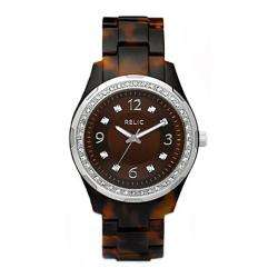 Relic by Fossil Womens Starla Tortoise Pattern Resin Watch