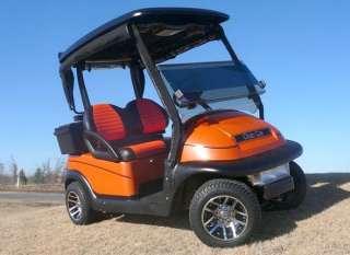 205/50 10 EFX Pro Rider Golf Cart Tires w/ 10x7 Illusion Aluminum