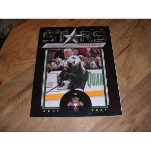 Game Program. 2002 Official Game Program. Dallas Stars Tonight