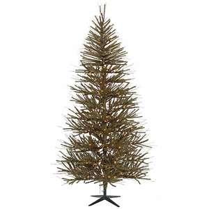 FT BROWN GREEN TWIG VIENNA CHRISTMAS TREE ~UNLIT NOT PRE LIT