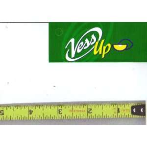 UP LOGO Soda Vending Machine Flavor Strip, Label Card, Not a Sticker