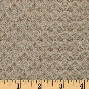 44 Wide Moda A Morris Tapestry Indienne Puttty Fabric By