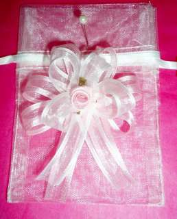 BAPTISM CHRISTENING 1st COMMUNION BABY SHOWER BIRTHDAY FAVORS BAGS 12