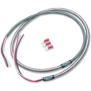NAMZ Custom Cycle Products 48 in. Tachometer Braided Stainless Steel