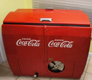 40/50s Vintage Refrigerated Coca Cola Cooler