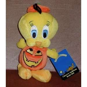 Warner Bros Pumpkin Tweety Bird 8 Tall X 4.5 Wide: Toys & Games