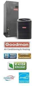 Ton 18 Seer Goodman Heat Pump System   DSZC180601   AVPTC42601