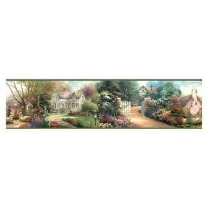 IMPERIAL Victorian Cottages Wallpaper Border TK074174B
