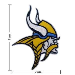 Minnesota Vikings Logo Iron On Patches: Everything Else