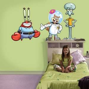 Fathead Nickelodeon SpongeBob SquarePants Friends Wall Graphic Decor