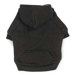 Dog FLEECE LINED HOODIE Cozy Sweatshirt Clothes Grey Pink XS, XS, S, M