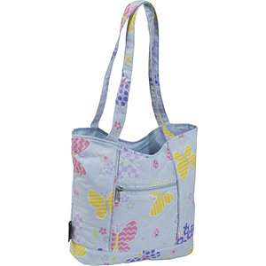 Wildkin Butterfly Quilted Tote Bags