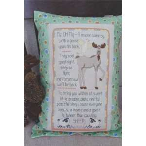 Moose and a Goose, A   Cross Stitch Pattern: Arts, Crafts