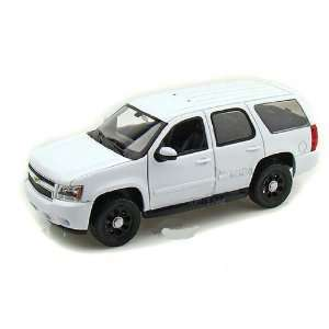 Welly   Chevrolet Tahoe SUV Police Car   No Decal (2009, 1