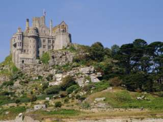 St. Michaels Mount, Castle, Cornwall, England, UK Photographic Print