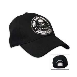 Hot Leathers 2nd Amendment Ball Cap (Black) Automotive
