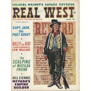 Magazine January 1965 Captain Jack Poet Scout: Real West Magazine
