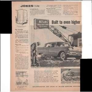 Atlas Tires Batteries Accessories 2 Page 1960 Antique Car Truck