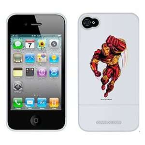 Iron Man Punching on Verizon iPhone 4 Case by Coveroo