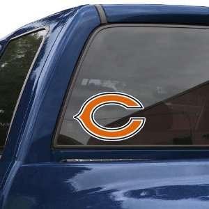 Chicago Bears 8 Color Team Logo Car Decal Sports