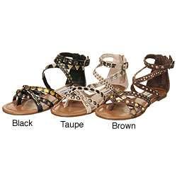 Steve Madden Womens Boogle Gladiator Sandals