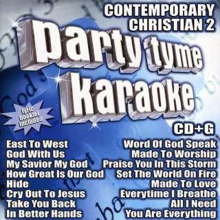 PARTY TYME KARAOKE   VOL. 2 CONTEMPORARY CHRISTIAN [CD NEW