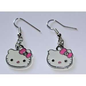 Hello Kitty Earrings Arts, Crafts & Sewing
