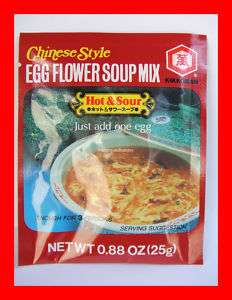 KIKKOMAN CHINESE STYLE HOT & SOUR EGG FLOWER SOUP MIX
