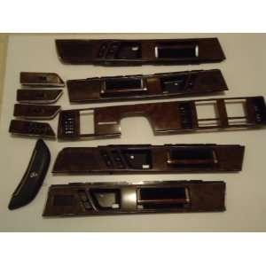 BUICK RIVIERA WOOD DOORS/DASH/STEERING INTERIOR TRIM & WINDOW SWITCHS