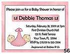 10 Baby Shower Invitations   Monkey Twins Girls