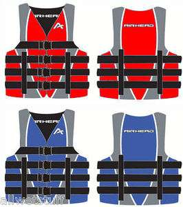 Life Vest Jacket Preserver Ski Boating Boat Pool Beach float tube