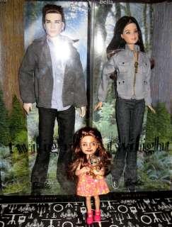 OOAK Renesmee Twilight Repaint Barbie doll russet Wolf Breaking Dawn