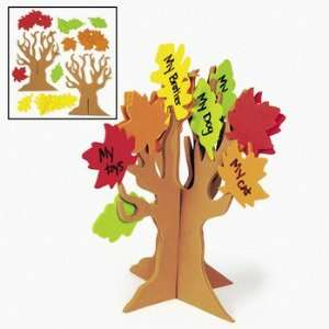 Standing Tree Of Thanks Craft Kit   Craft Kits & Projects