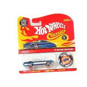 1965 Ford Mustang Convertible 1/64 #4 of 15 Series 4 Toys