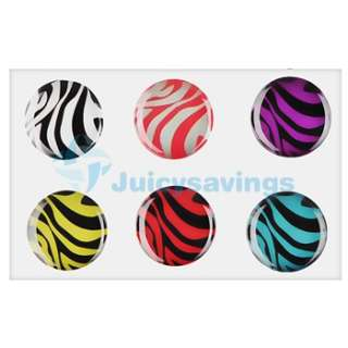 For Apple iPod Touch 8GB Pull Leather Case Pouch+Zebra Home Button