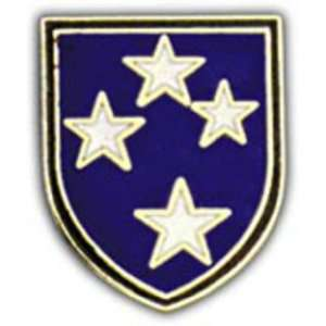 U.S. Army 23rd Infantry Division Pin 1 Arts, Crafts