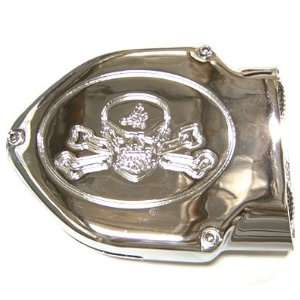 BKRider Velocity Scoop Skull & Bones Air Cleaner For Harley Davidson