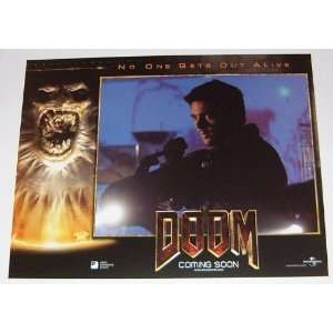 DOOM   Movie Poster Print   11 x 14 inches   Dwayne Johnson, The Rock