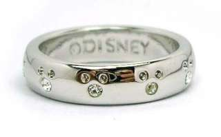 Disney Mickey Mouse Clear Crystal Ring Kids Mother Gift