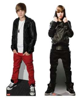 JUSTIN BIEBER 2 LIFESIZE COLLECTION STANDEE STAND UPS