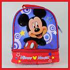 Disney Mickey Mouse Dual Compartment Lunch Bag   Box