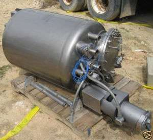 100 Gallon Stainless Steel Pressure Tank |