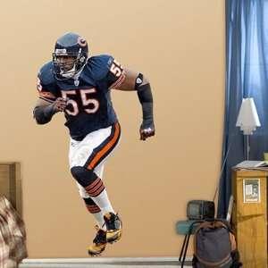 Lance Briggs Fathead Wall Graphic   NFL