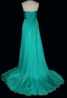 Elegant Chiffon Formal Gown Evening Prom Bridal Dress