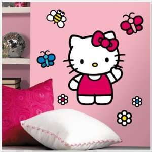 Hello Kitty Mega Decal Pack   Includes 1 Giant World of Hello Kitty
