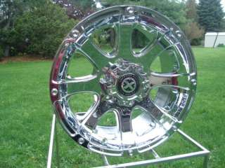 ATX 188 15x7 CHROME 5 ON 4.5 JEEP WRANGLER RANGER WHEEL
