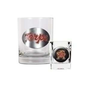Maryland Terrapins Rocks Glass & Shot Glass Set: Sports