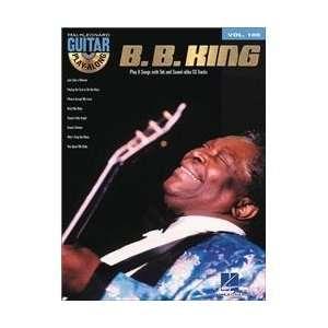 B.B. King   Guitar Play Along Volume 100   Book and CD