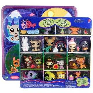 Littlest Pet Shop NCF LPS TIN PET SHOP COLLECTIBLE