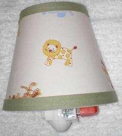 NIGHTLIGHT madew Tiddlwinks JUNGLE ANIMAL Baby Nursery